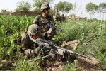 Operation Enduring Freedom: Marines operate near Combat Outpost Ouellette